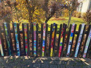 Coronaprojekt: Unser Zaun soll schöner werden