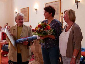 Gute Seele der Merkendorfer Stadtkirche verabschiedet