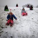 Juhuu der erste Schnee