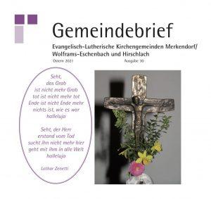 Gemeindebrief Merkendorf Frühjahr21
